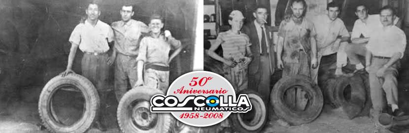 Historia Neumáticos Coscolla